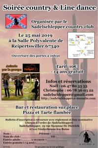 Affiche soiree country 2019 plan