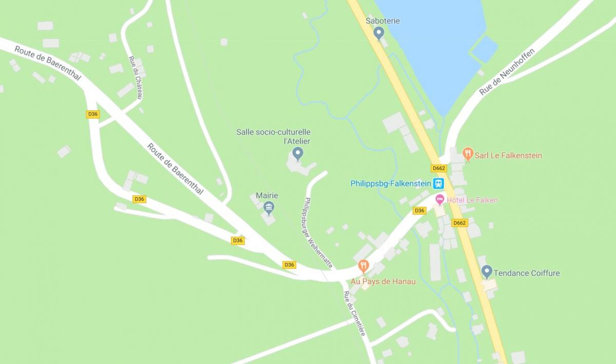 Carte philippsbourg
