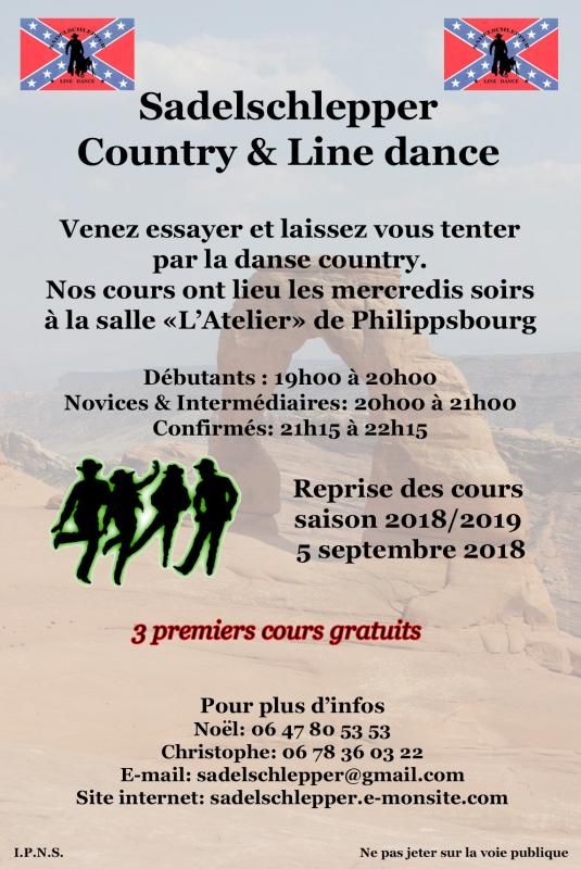 Flyer cours 2018