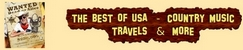 The best of USA - Country music, Travels & more
